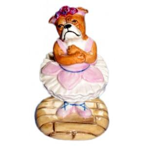 Baby Ballerina Bulldog - version b
