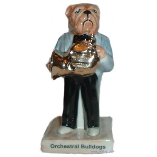 French Horn Player Bulldog