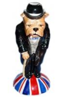Winston Churchill Bulldog - version b
